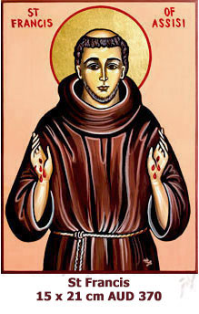 St Francis of Assisi, Founder of Oder Friars Minor