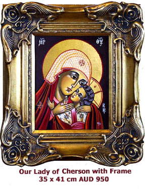 Our lady of Korsun, Godmother from Kherson