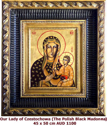 Our Lady of Czestochowa, Polish Black Madonna, Poland´s Patron Saint