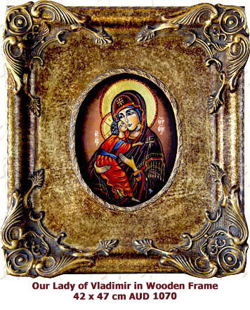 Our Lady of Vladimir, Godmother from Vladimir icon