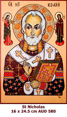 St Nicholas, Patron Saint of Sailors, Captives and Children